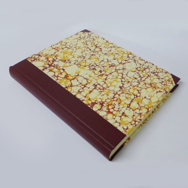 marble covered photo album