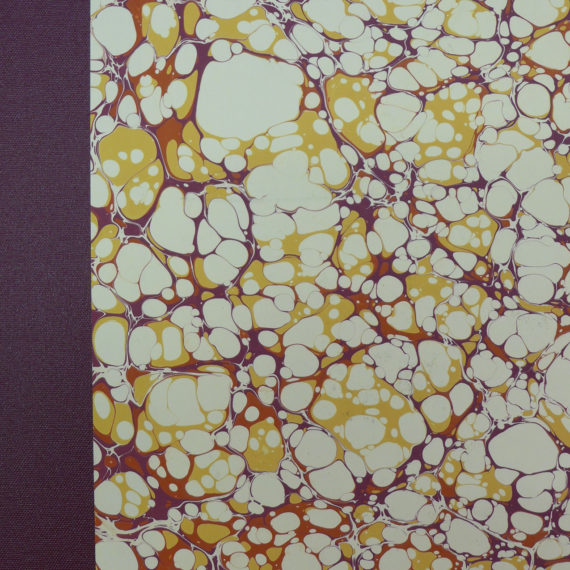 marbled covered photograph album