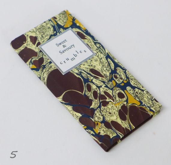crumbles recipe book hand made in cork