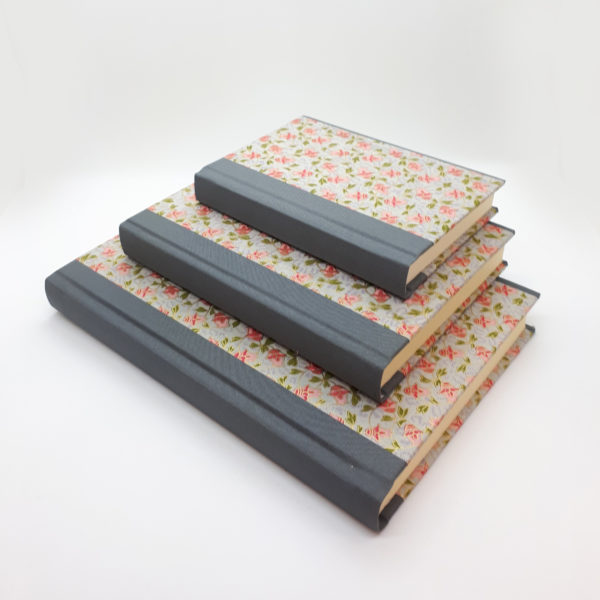 Handbound, handmade, chiyogami, notebook