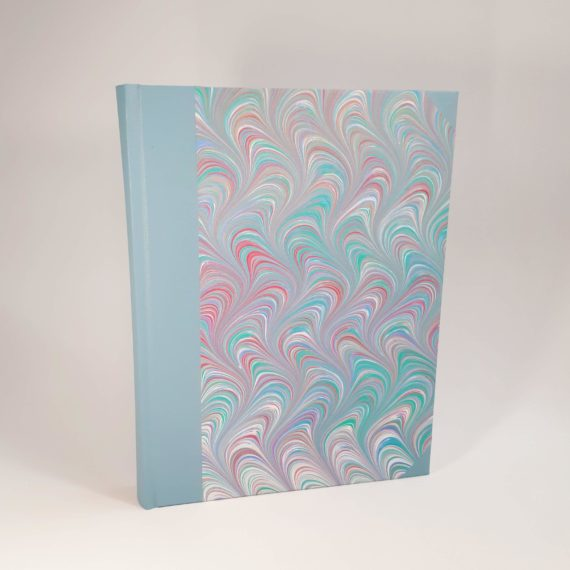 handmade, photo album,hand marbled paper