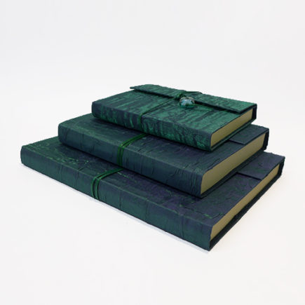handmade silk covered sketchbooks