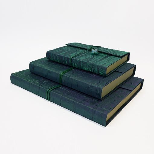 handmade silk covered sketchbooks