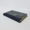 Sea foam marbled notebook