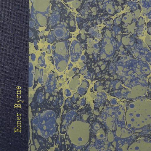 embossed handmade sketchbook
