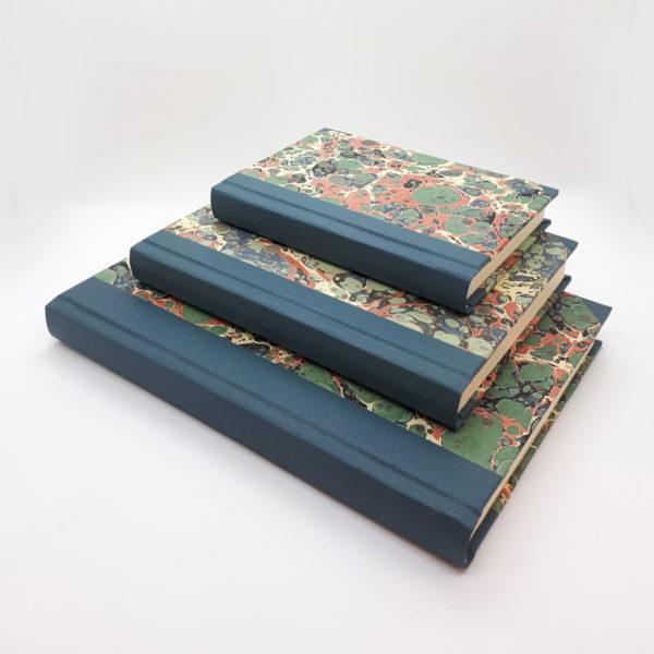 Hand Marbled, handmade, notebook