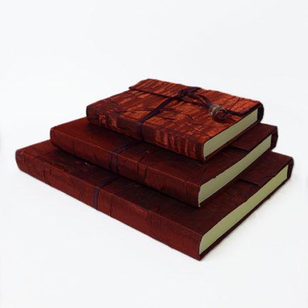 handbound silk sketchboks