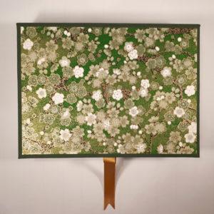 Green Flower Writing set 3