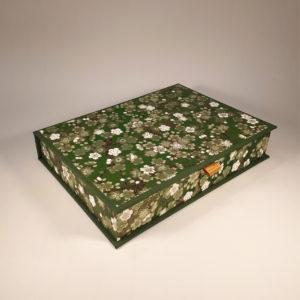 Green Flower Writing set2