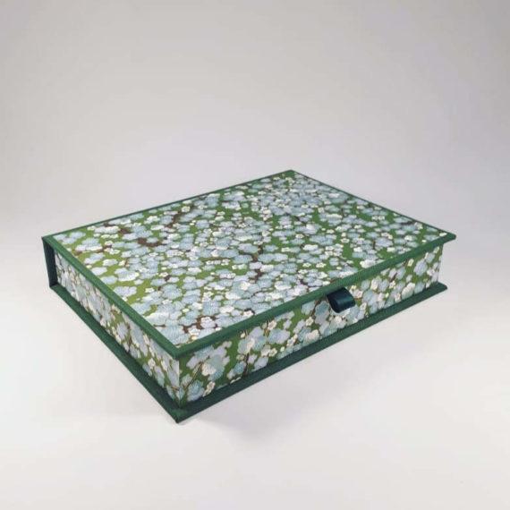 Writing set, handmade, chiyogami, irish craft