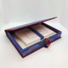 Blue Fan Chiyo Writing Set Open