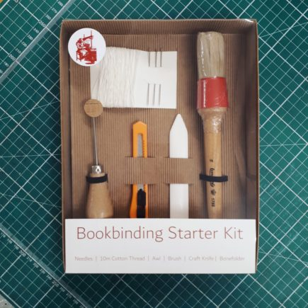 bookbinding, bookbinding starter kit, how to book bind, how to bind a book