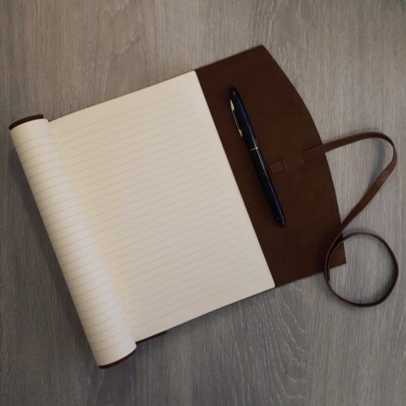 Leather, soft leather, journal, handmade, earth, earth brown