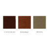Hubert Book Bindery Colour Chart Chocolate