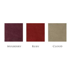 Hubert Book Bindery Colour Chart Mulberry