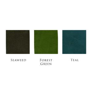 Hubert Book Bindery Colour Chart Seaweed