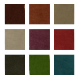 Hubert Book Bindery Soft Leather Wrap Colour Chart