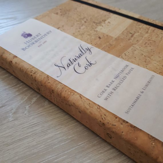 Cork Bark, Handmade Notebook,