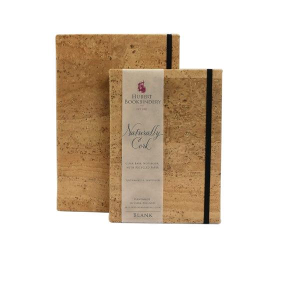 Cork Bark, Handmade Notebook,