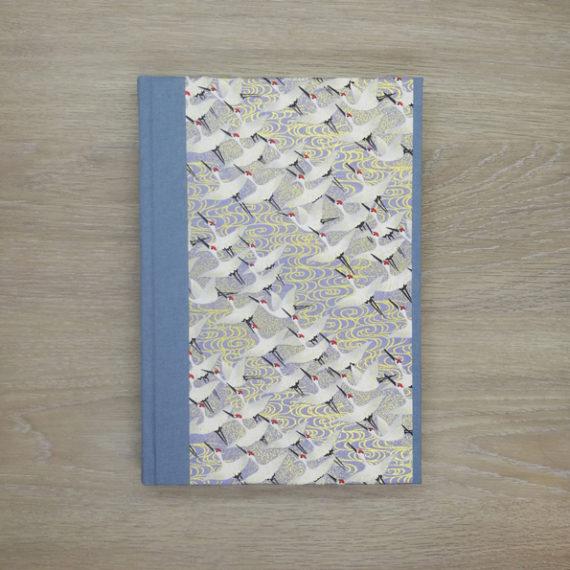 japanese paper, chiyogami paper, notebook, handmade