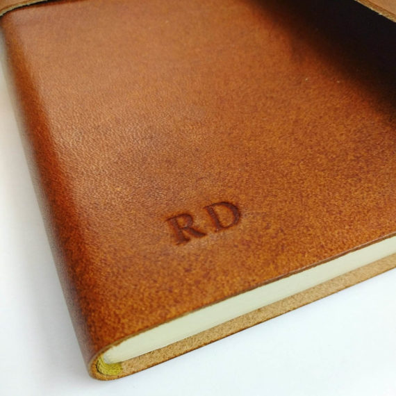Handmade, Leather, Journal, Handmade leather Wrap Journal, embossing