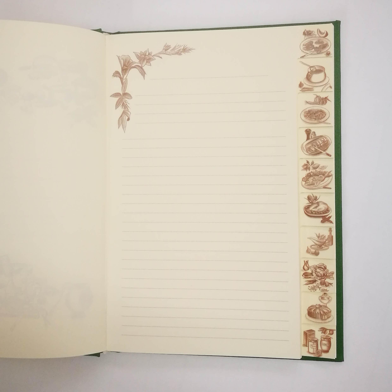 Recipebook Design: Barbara Hubert Hand Bookbindery