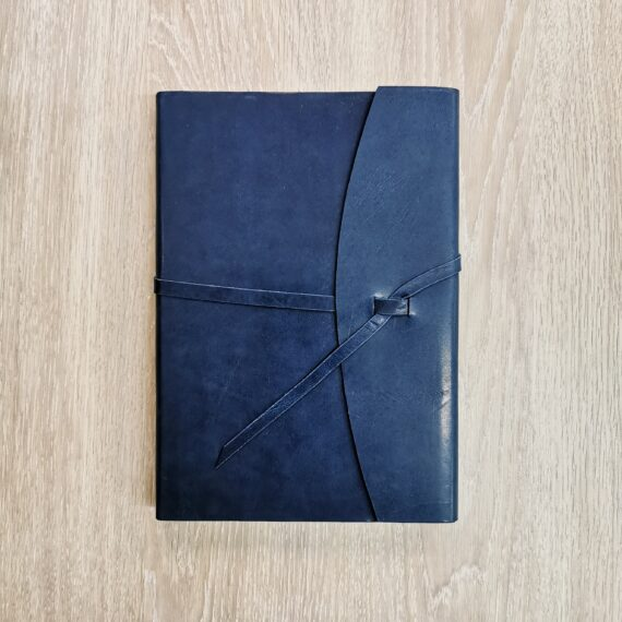 Midnight Leather Wrap Journal, Hubert Book Binding, Cork City