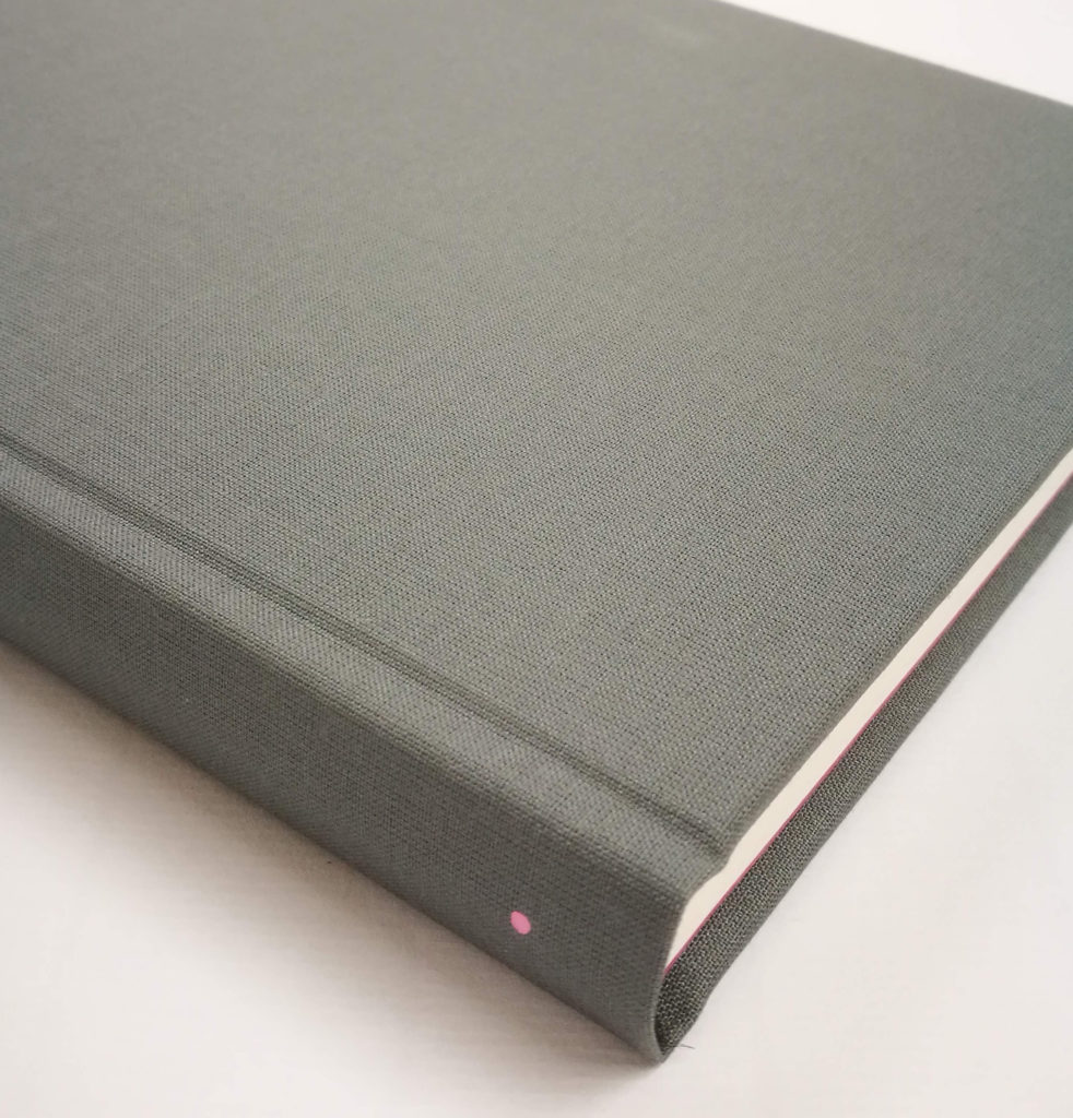 Dark Grey Bullet Notebook Limited Edition DOT