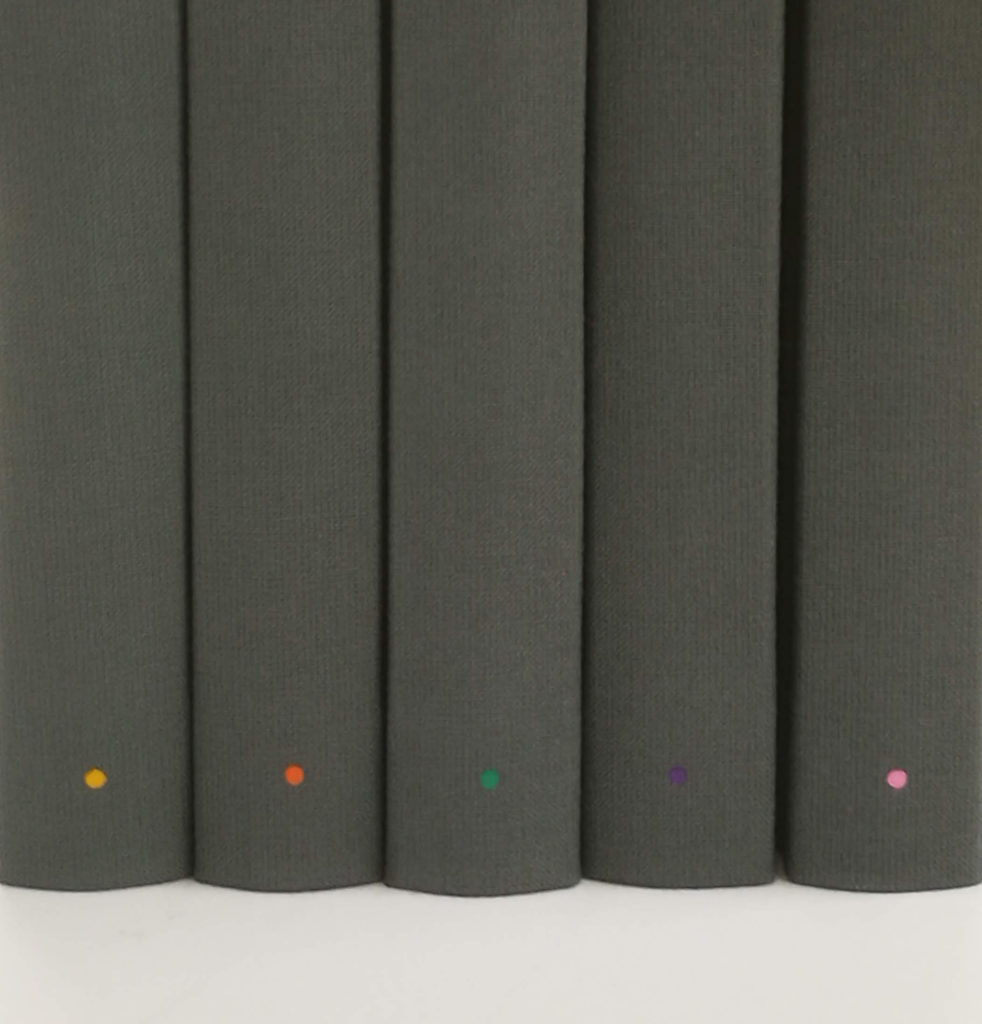 Dark Grey Bullet Notebook Limited Edition Group