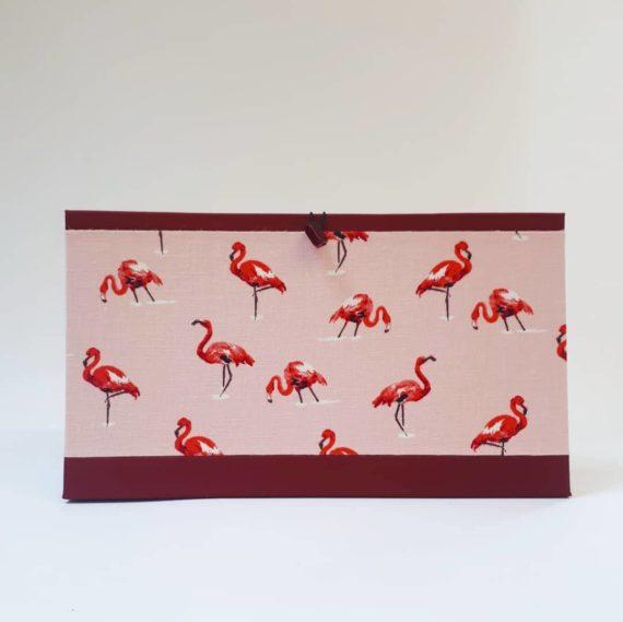 Flamingo Concertina File, concertina file, handmade, hubert, flamingo, irish craft, irish,