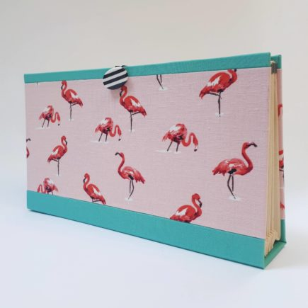 Flamingo Concertina File, concertina file, handmade, hubert, flamingo, irish craft, irish,
