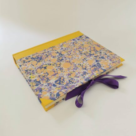Handmade Lemon Lilac Photo Album