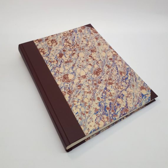 Handmade, Album, hand marbled, irish, craft