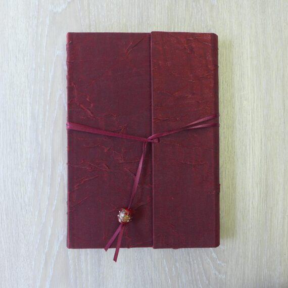 notebook, handmade notebook, irish, irish craft, irish made, silk, silk wrap