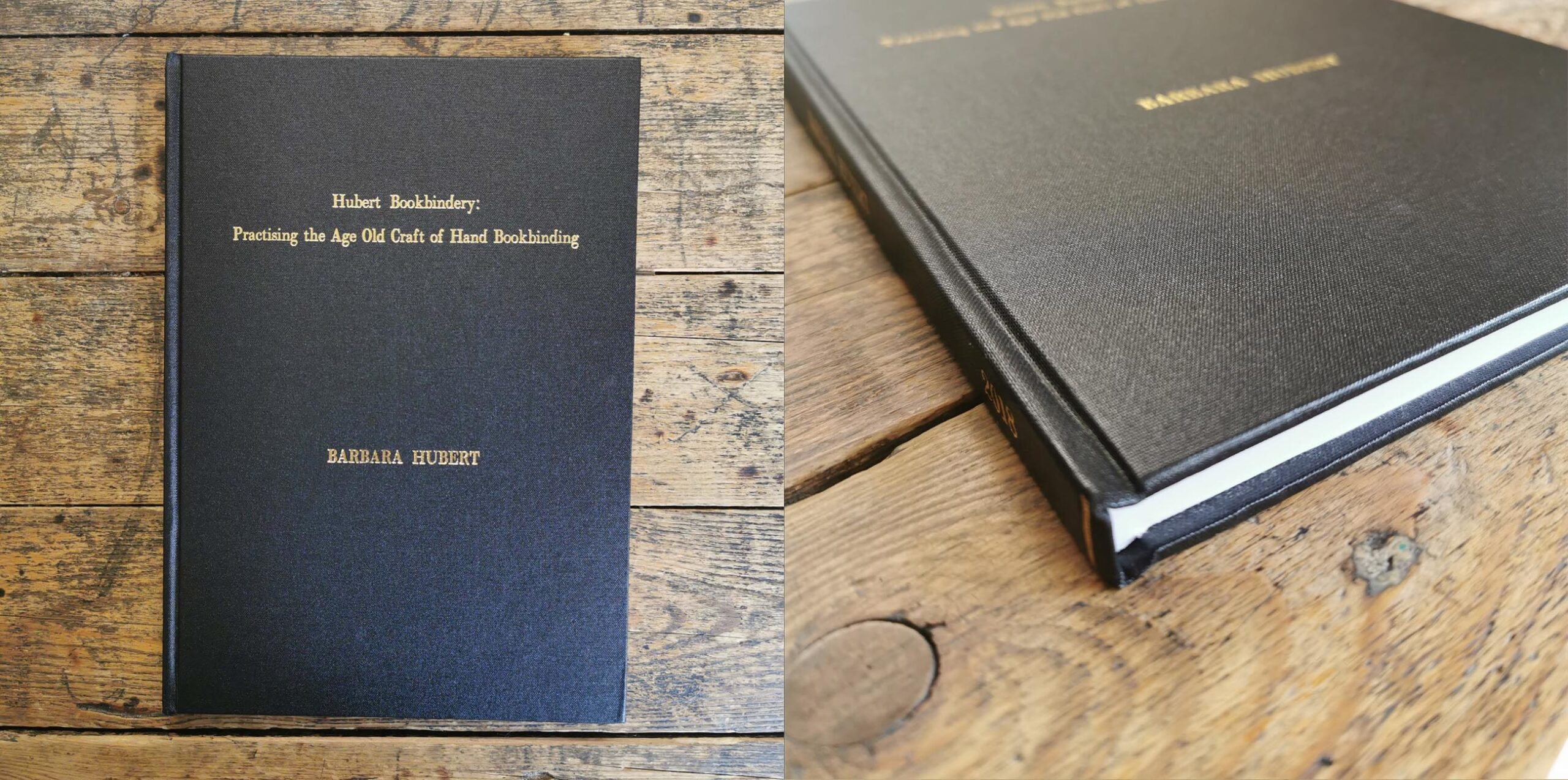 Hardbound Thesis Report Hubert Bookbindery