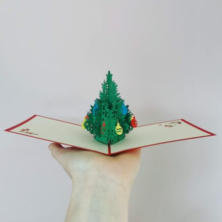 Pop up Christmas Card, hubert bookbindery Cork
