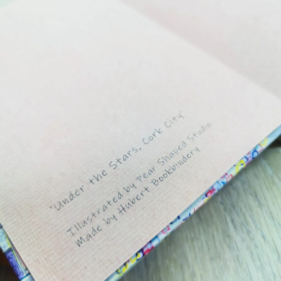 Under The Stars Inside Pages. Pear Shaped Studio