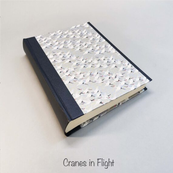 album, handmade album, chiyogami, japanese paper, hubert, irish, irish craft, irishmade,