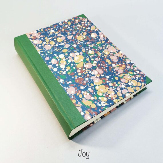 album, handmade album, marbled paper, hubert, irish, irish craft, irishmade,