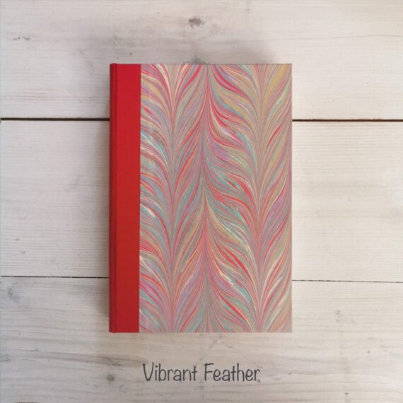 Handmade Notebook, marble notebook, hand marbled notebook