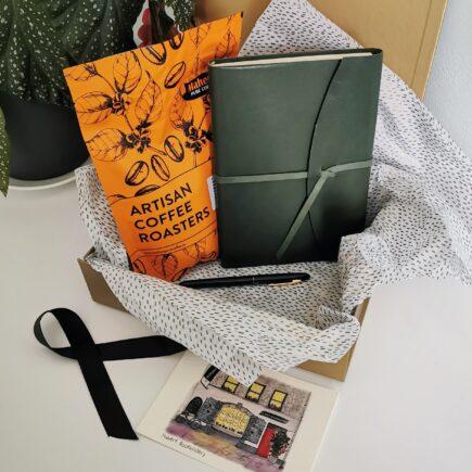 Stationery Set, Coffee, Journaling, Handmade, Cork, Ireland