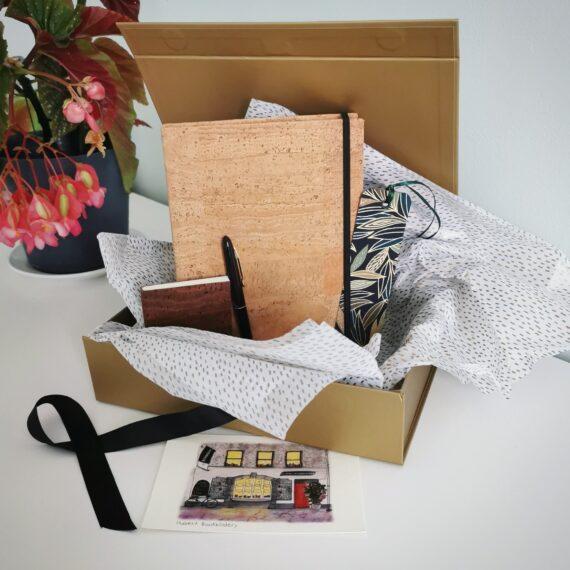 Cork Bark, stationery set, handmade, giftset, Cork, Ireland