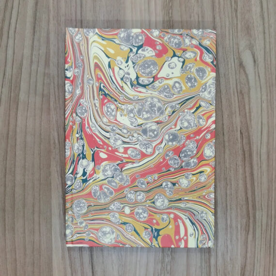 Marbled Paper, Notebook, Handmade, Stationery,