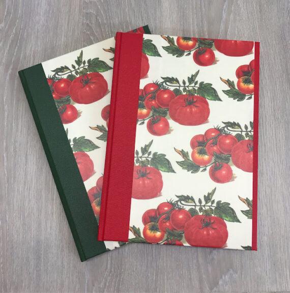 Tomato Recipe book Red and Green Hubert Bookbindery Ireland